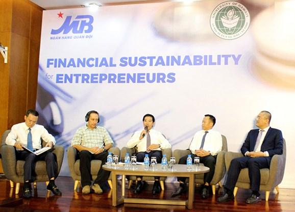 Bảo đảm bền vững tài chính cho doanh nghiệp